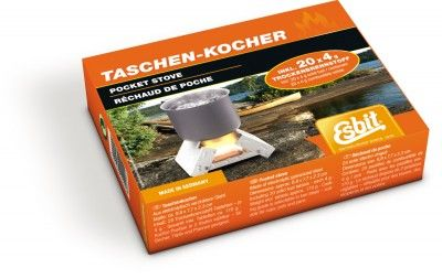 Kuchenka ESBIT Pocket Stove Small 20 x 4g