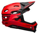 Kask full face Bell Super DH Mips Spherical fasthouse matte gloss red black