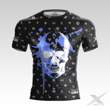 Koszulka treningowa ONLY-BX DIAMOND SKULL BLACK